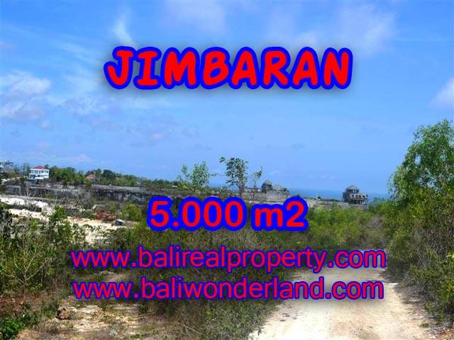 Tanah di Bali dijual 50 Are di Jimbaran Pecatu