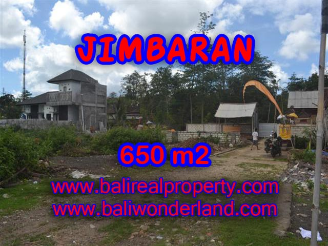 Jual tanah di Jimbaran 6,5 Are Lingkungan Elite di Jimbaran Ungasan
