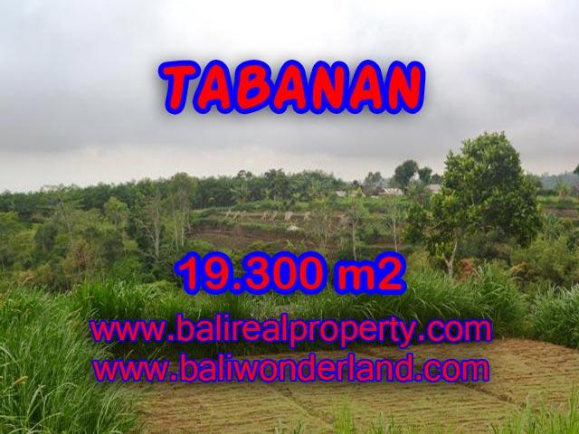 INVESTASI PROPERTI DI BALI - JUAL MURAH TANAH DI TABANAN BALI TJTB086