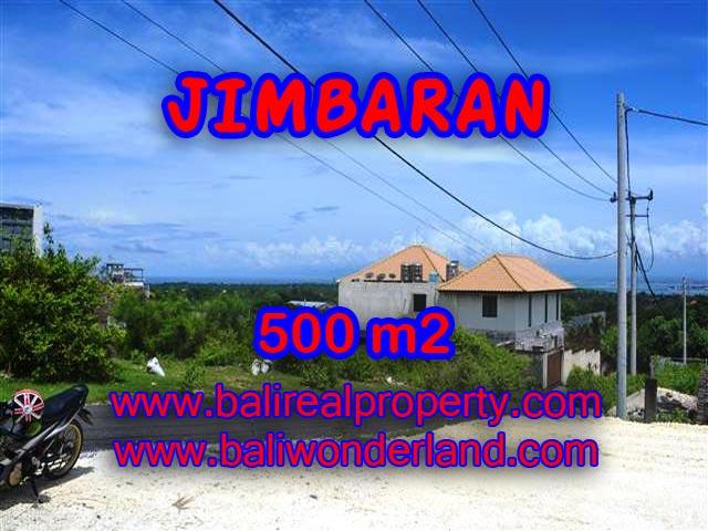 TANAH DIJUAL DI JIMBARAN BALI MURAH TJJI066-X - PELUANG INVESTASI PROPERTY DI BALI