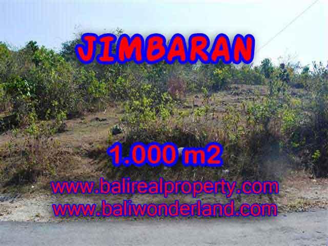 Peluang Investasi Properti di Bali - Jual Tanah murah di JIMBARAN TJJI074