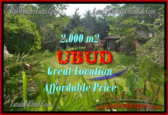 Jual Tanah murah di UBUD TJUB429 - investasi property di Bali