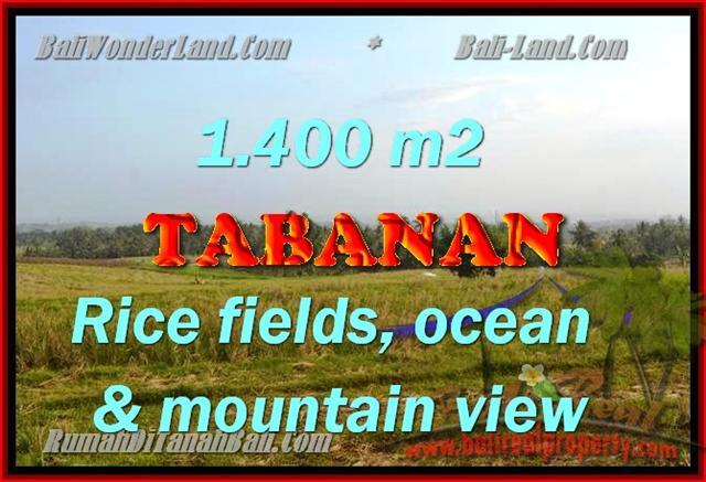DIJUAL TANAH DI BALI, MURAH DI TABANAN RP 550.000 / M2 - TJTB143