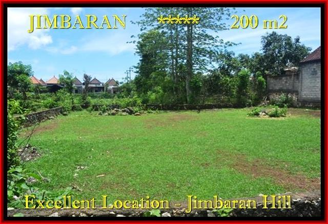 TANAH MURAH di JIMBARAN BALI 200 m2 Lingkungan Villa