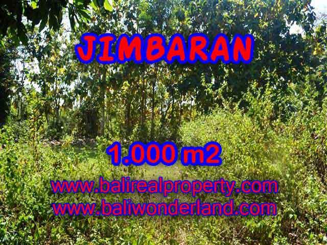TANAH DIJUAL MURAH di JIMBARAN Untuk INVESTASI TJJI071