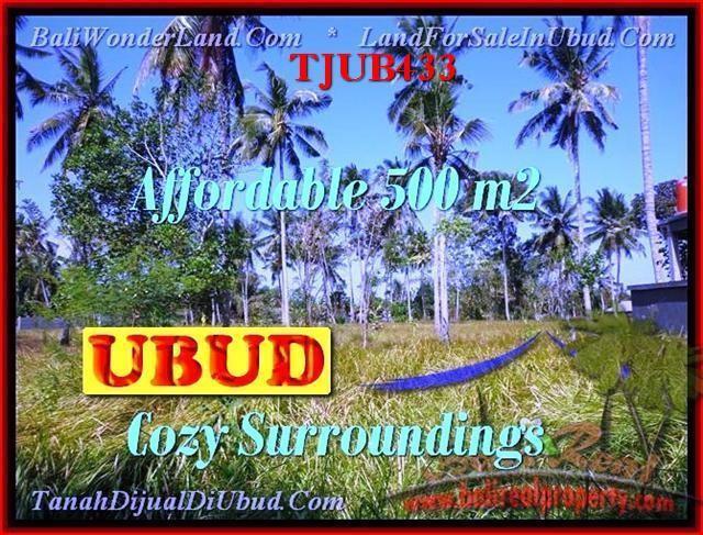 TANAH MURAH di UBUD DIJUAL TJUB433
