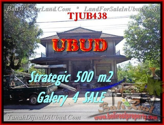 JUAL TANAH MURAH di UBUD BALI 500 m2 Galery / Shop