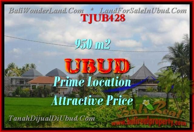 TANAH DIJUAL di UBUD Untuk INVESTASI TJUB428