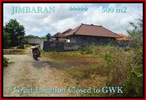 TANAH MURAH di JIMBARAN BALI 500 m2 di Jimbaran Ungasan