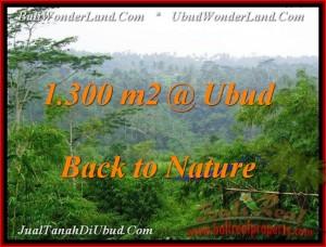 TANAH DIJUAL di UBUD 1,300 m2 di Ubud Tegalalang