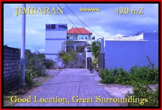TANAH MURAH di JIMBARAN BALI Untuk INVESTASI TJJI096