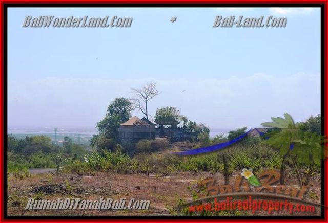 JUAL TANAH di JIMBARAN 750 m2 View laut dan bandara