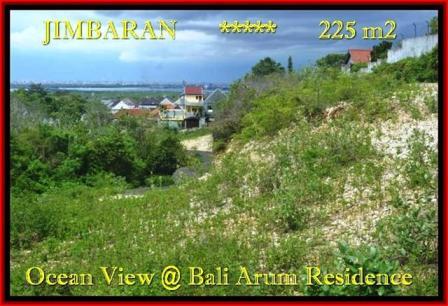 JUAL TANAH MURAH di JIMBARAN 2,25 Are View laut toll Lingkungan villa