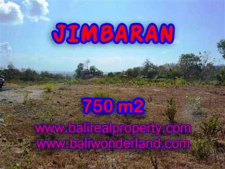 TANAH di JIMBARAN BALI DIJUAL MURAH 750 m2 di Jimbaran Uluwatu