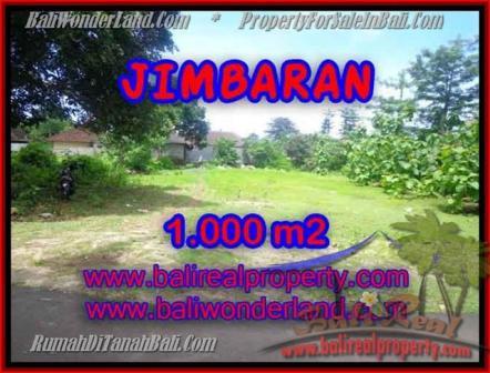 JUAL MURAH TANAH di JIMBARAN BALI 10 Are Lingkungan villa