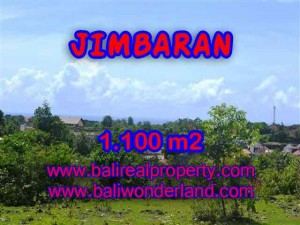 JUAL TANAH MURAH di JIMBARAN Untuk INVESTASI TJJI067