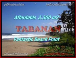 TANAH di TABANAN BALI DIJUAL MURAH 33 Are view laut dan sawah