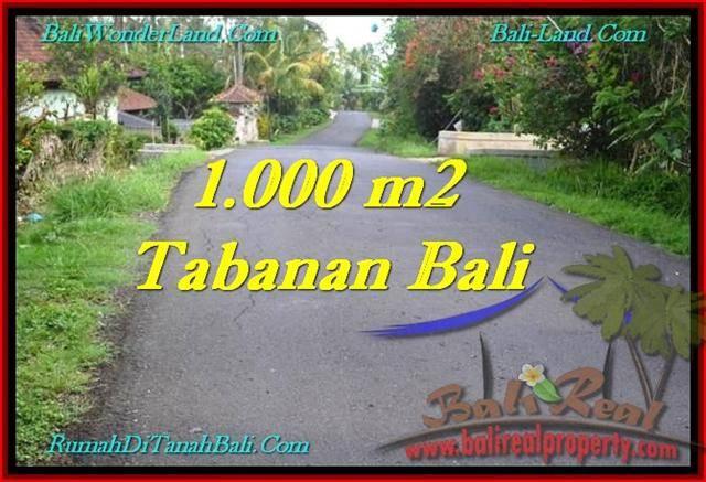 INVESTASI PROPERTI, DIJUAL TANAH di TABANAN TJTB243