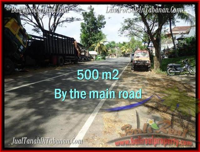 JUAL TANAH di TABANAN 500 m2 Lingkungan Perumahan