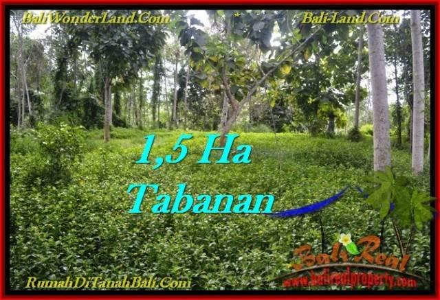 DIJUAL TANAH di TABANAN BALI Untuk INVESTASI TJTB272