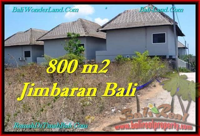 JUAL TANAH di JIMBARAN BALI 800 m2 di Jimbaran Ungasan