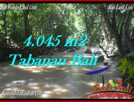 DIJUAL TANAH di TABANAN 40.45 Are di Tabanan Selemadeg