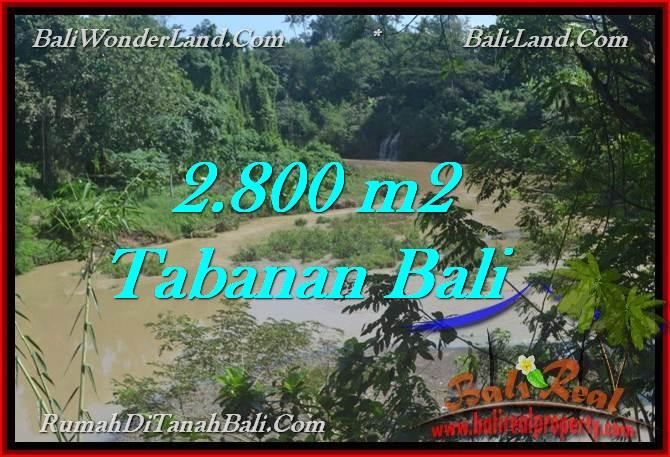 TANAH MURAH di TABANAN BALI 2,800 m2 di Tabanan Selemadeg