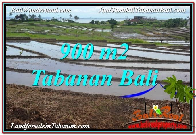 JUAL MURAH TANAH di TABANAN 900 m2 View Laut, Gunung dan sawah