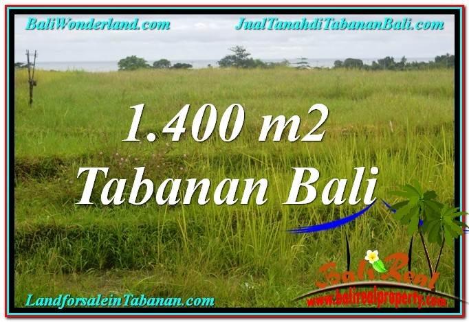 TANAH DIJUAL di TABANAN 14 Are View Laut, Gunung dan sawah