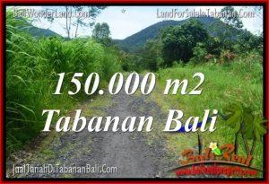 TANAH DIJUAL di TABANAN BALI 1500 Are View gunung dan sawah