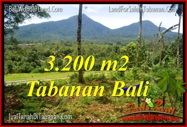 DIJUAL TANAH MURAH di TABANAN BALI 3,200 m2 di Tabanan Penebel