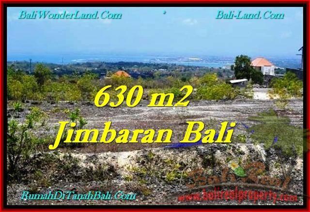 JUAL MURAH TANAH di JIMBARAN BALI 630 m2 View Bandara, laut, Tol, Link Villa