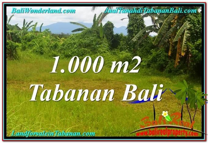 DIJUAL TANAH di TABANAN TJTB311