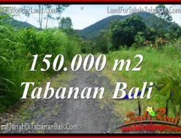JUAL MURAH TANAH di TABANAN BALI 1500 Are di Tabanan Penebel