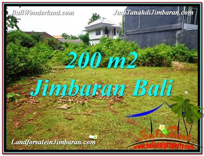 TANAH di JIMBARAN BALI DIJUAL 200 m2 Dekat Kampus