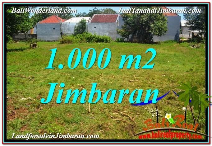 TANAH di JIMBARAN BALI DIJUAL 1,000 m2 di Jimbaran Ungasan