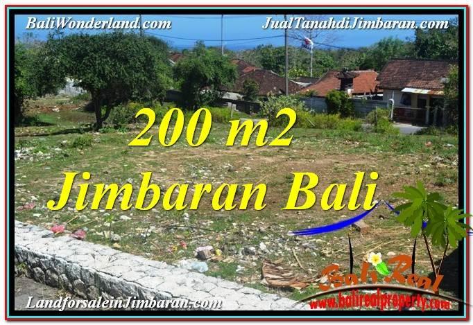 TANAH di JIMBARAN DIJUAL 200 m2 di Jimbaran Kutuh