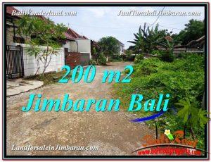 DIJUAL TANAH MURAH di JIMBARAN BALI 200 m2 di Jimbaran Ungasan