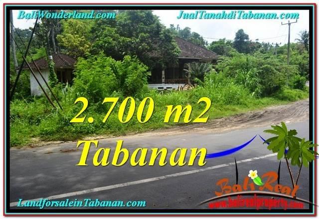 TANAH MURAH DIJUAL di TABANAN BALI 27 Are di Tabanan Kerambitan