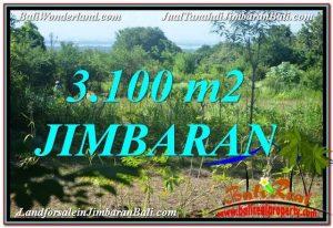 JUAL MURAH TANAH di JIMBARAN BALI 3,100 m2 View Laut dan Jalan Tol