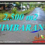 TANAH di JIMBARAN BALI DIJUAL 2,500 m2 di Jimbaran Ungasan