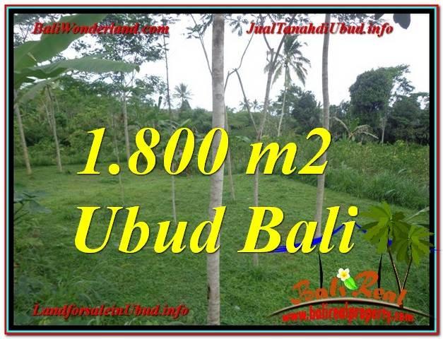 INVESTASI PROPERTI, JUAL MURAH TANAH di UBUD TJUB610