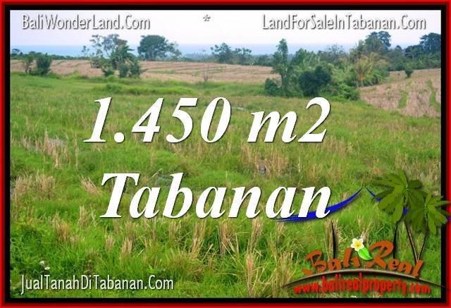 JUAL TANAH di TABANAN BALI Untuk INVESTASI TJTB343
