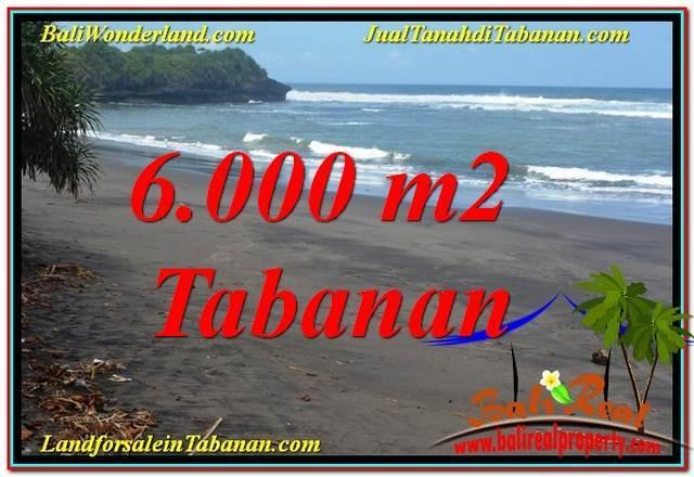 JUAL MURAH TANAH di TABANAN BALI 60 Are View laut dan sawah
