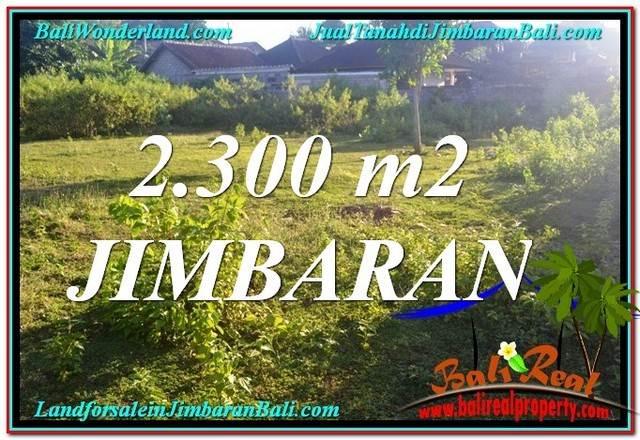 TANAH di JIMBARAN JUAL 23 Are Lingkungan Villa