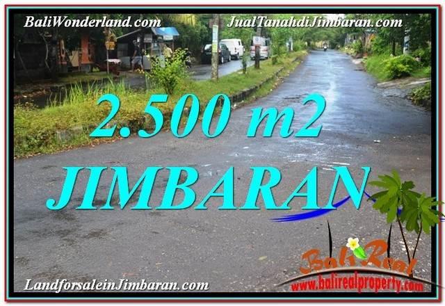 TANAH MURAH di JIMBARAN BALI 2,500 m2 Lingkungan Villa