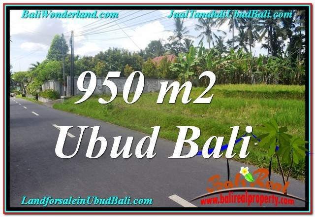 INVESTASI PROPERTI, DIJUAL TANAH di UBUD BALI TJUB648