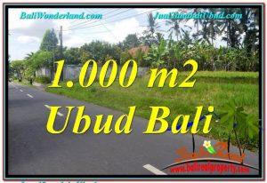 INVESTASI PROPERTI, DIJUAL MURAH TANAH di UBUD BALI TJUB649