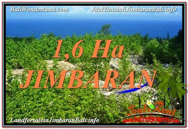 JUAL MURAH TANAH di JIMBARAN BALI 16,000 m2 di Jimbaran Uluwatu