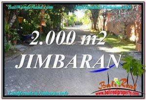 TANAH MURAH di JIMBARAN 20 Are Lingkungan perumahan Elite